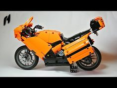 Lego Technic Sport Touring Motorcycle (MOC)