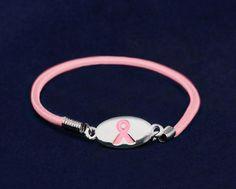 26e5e46d8d0 Pink Ribbon Stretch Bracelets (25 Bracelets) Endometriosis Awareness, Breast  Cancer Awareness, Ribbon