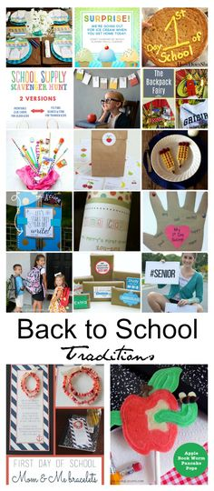 Back to School Ideas| Back-to-School-Traditions