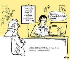 Doctor Google #drgoogle #hypochondria #cartoon