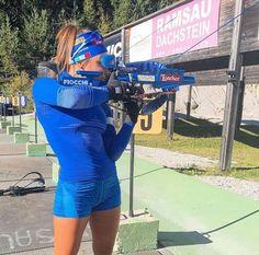 Вирер сменила цвет винтовки - Биатлон - Sports.ru