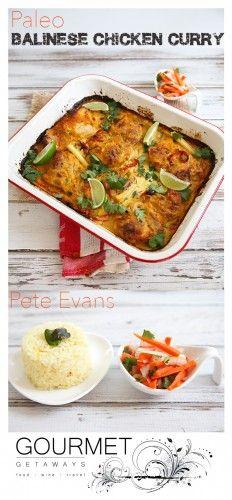 Paleo Balinese Chicken Curry - Pete Evans