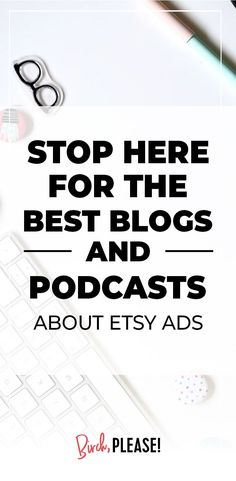 Etsy Ad Hacks To Increase Your Sales - Wanna see how you can make Etsy ads work for your shop? Are Etsy ads even worth it? In this podcast episode, we'll look the exact strategy other Etsy sellers are using to make serious bank with Etsy ads. Starting An Etsy Business, Etsy Seo, Work From Home Tips, Best Blogs, Etsy Crafts, Inbound Marketing, Online Work, Selling Online, Sell On Etsy