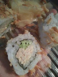 Heart slice of crab roll!  San Buenaventura,  CA❤