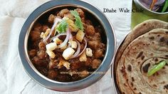 There is list in my mind which contains the names of the dishes that I would never refuse!! Chole or Chana Masala being one of the many on that list! 😛 it's simply irresistible! I enjoy it w…