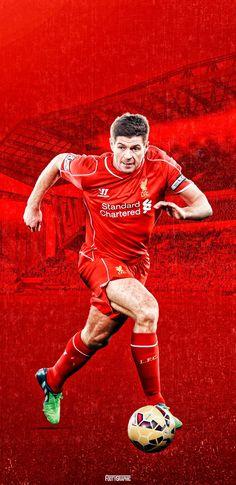 Iphone Wallpaper Liverpool, Fantastic Wallpapers, This Is Anfield, Steven Gerrard, Football, Soccer, Futbol, American Football, Soccer Ball