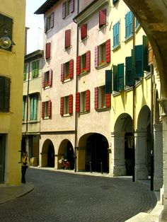 """portici"" in Udine, Friuli-Venezia Giulia, Italy - #udine #friuli #city #travel #italy - Stop&Sleep Udine"