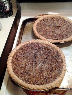"Easy Karo Pecan Pie! 5.00 stars, 2 reviews. ""Very easy to do taste wonderful."" @allthecooks #recipe #thanksgiving"