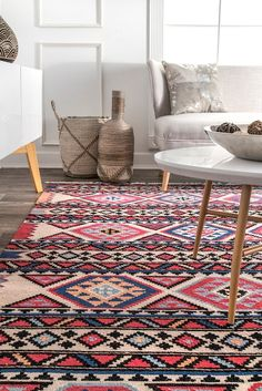 Rugs USA Red Amitola