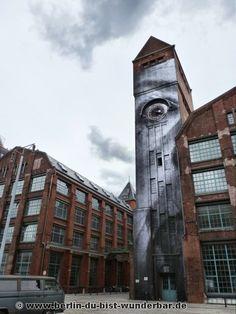 streetart berlin - JR Artist