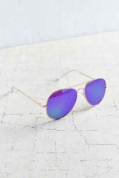 Classic Aviator Sunglasses - Urban Outfitters