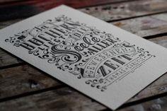 El fascinante lettering de estilo tradicional de Tobias Saul   Blog de diseño gráfico y creatividad.