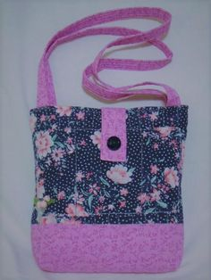 269e566c36 BRAND NEW ONE-OF-A-KIND CUSTOM HANDMADE QUILTED VINTAGE FABRIC LAVENDER   amp · Tote Bags ...