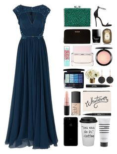 """""""5.438"""" by katrina-yeow ❤ liked on Polyvore featuring Dsquared2, Judith Leiber, Balmain, Butter London, Fresh, Maybelline, Givenchy, Christian Dior, MAC Cosmetics and Astley Clarke"""