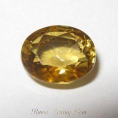 Orangy Yellow Zircon 2.46 carat