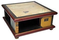 French Trompe-l'Oeil Coffee Table on OneKingsLane.com