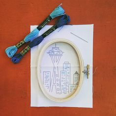 Space Needle kits arriving at Portage Bay Goods in Seattle
