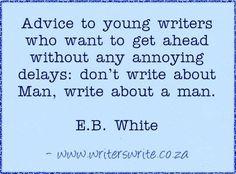 Write about A man.
