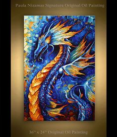 https://www.etsy.com/listing/256087875/dragon-painting-abstract-art-36-x-24