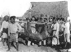 Bali Tiger Shot 1925