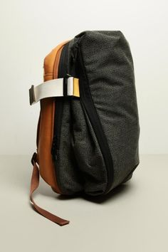 Cote & Ciel twin touch rucksack leather