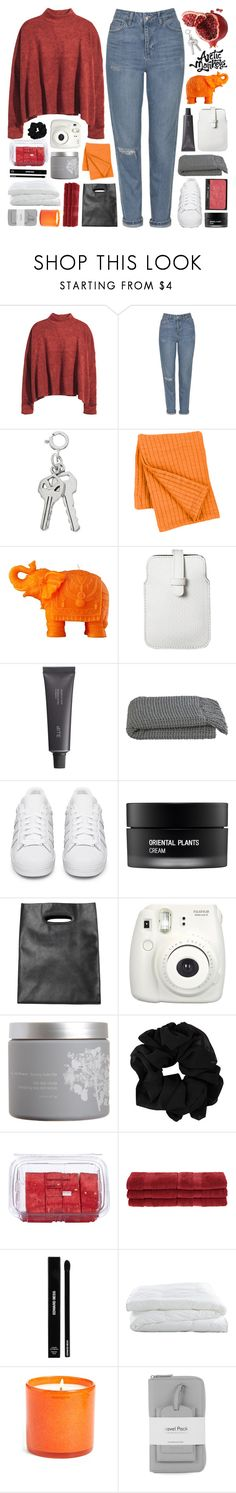 """""""insecurities and loving ourselves. rtd"""" by untake-n ❤ liked on Polyvore featuring H&M, Topshop, Pine Cone Hill, Mario Luca Giusti, Mossimo, Bite, Crate and Barrel, NARS Cosmetics, adidas Originals and Koh Gen Do"""