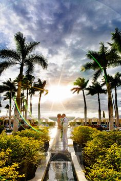 A magical Four Seasons Maui moment.