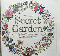 Secret Garden Coloring Book Finished Pages Google Search