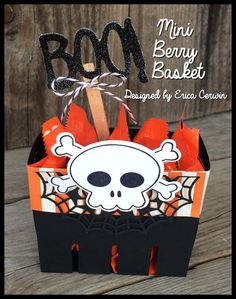 Mini Bigz Berry Basket by Erica Cerwin- Includes video tutorial!