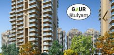 Gaur has launched #GaurAtulyam project with 2/3/4 BHK apartments in Greater Noida in very bearable price range. Read more - http://www.apartmentsnoida.com/gaur-atulyam/