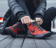 Nike Free Flyknit Chukka FSB: Red