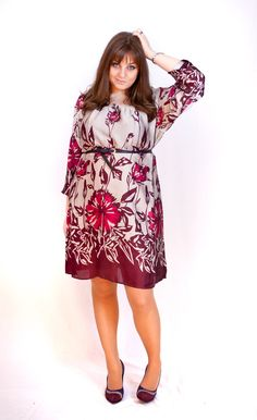 Navabi dress is wrong for me! :\ Too loose, too long :( too baaad!