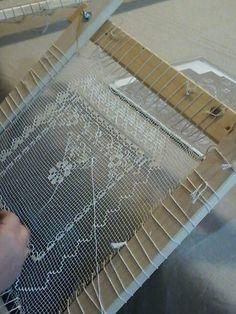 Filet sardo Filet Crochet, Knit Crochet, Tenerife, Drawn Thread, Hairpin Lace, Old Tools, Needle Lace, Filets, Lace Making