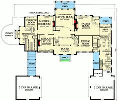 Lovely Georgian Estate Home - 32607WP | Architectural Designs - House Plans