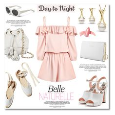 """""""Day to Night: Rompers"""" by pearlparadise ❤ liked on Polyvore featuring Soludos, Rochas, Rebecca Minkoff, Trussardi, Elizabeth Arden, DayToNight, romper, contestentry, pearljewelry and pearlparadise"""
