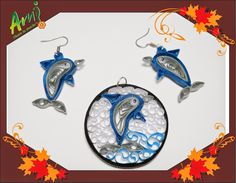 Ami Floare la Ureche: Quilled dolphins