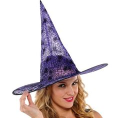 Classic Purple Witch Hat - Party City  5.00
