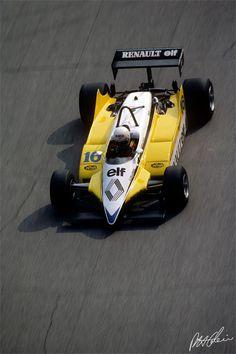1982 GP Włoch (Rene Arnoux) Renault RE30B