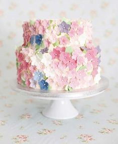 Spring Petal Wedding Cake inned By High Billinghurs Farm Wedding Venue