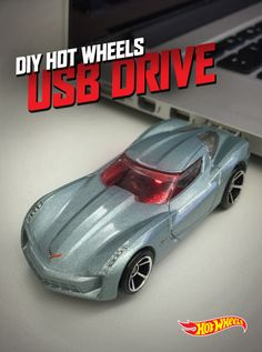 This DIY Hot Wheels USB Drive is the perfect gift for the gearhead in your life. Find out how to build it here.