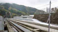 Home | MAGLEV | Levitating Japanese Train Breaks Speed Record At 603KPH