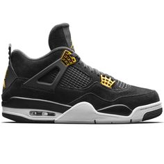buy popular cf092 2945a Nike Air Jordan 4 Retro (308497-032) Royalty Black Metallic Gold Pre Order