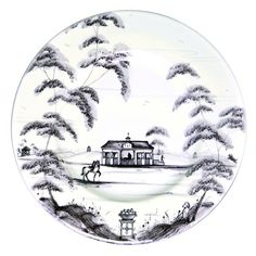 Country Estate Delft Blue Side/Cocktail Plate by Juliska A galavant across the fields on your favorite filly from the stables promotes rosy cheeks and stimulates the appetite. This side plate is the perfect companion to a slice of homemade bread, g Blue Side Plates, Tabletop Accessories, Decorative Accessories, House Siding, Country Estate, Country Life, Neutral Palette, Maine House, Stables