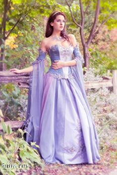 A fairy tale gown for an ethereal wedding :)