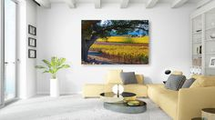 California Nature Print, Vineyard Photo, Napa Valley Fall Fine Art, Wine Country, Large Autumn Canvas, Gallery Wrap, Large Winery Wall Decor by SusanTaylorPhoto on Etsy