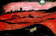 """Emil Filla """" Night of Love """" c 1908 #art #artweet #iloveart #painting #feinart #followart  #night"""