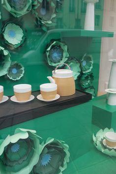 charlotte sagory on behance fleurs en papier pour les vitrines shang xia par make my lemonade
