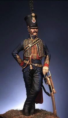Captain 4th rgt. Hussar 1810