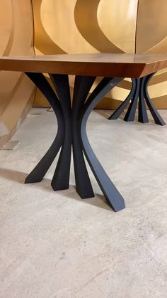 Here are steel table legs with many options for dining table, live edge table, river table. Metal Wood Coffee Table, Metal Leg Dining Table, Dining Table Design, Coffee Table Design, Coffee Table Legs, Modern Table Legs, Diy Table Legs, Wood Table Legs, Steel Table Legs