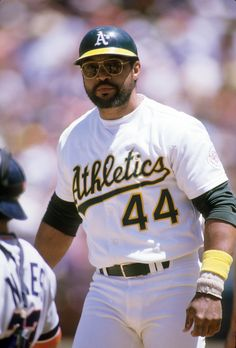 Reggie Jackson - 1987 Oakland Athletics